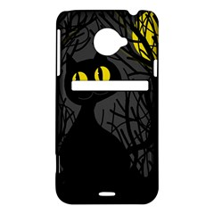 Black cat - Halloween HTC Evo 4G LTE Hardshell Case