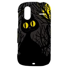 Black cat - Halloween HTC Amaze 4G Hardshell Case