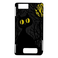 Black cat - Halloween Motorola DROID X2