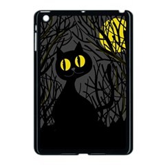 Black cat - Halloween Apple iPad Mini Case (Black)