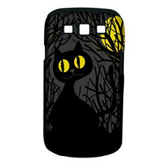 Black cat - Halloween Samsung Galaxy S III Classic Hardshell Case (PC+Silicone)