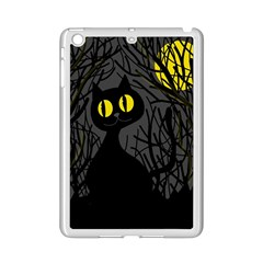 Black cat - Halloween iPad Mini 2 Enamel Coated Cases
