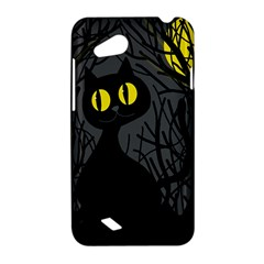 Black cat - Halloween HTC Desire VC (T328D) Hardshell Case
