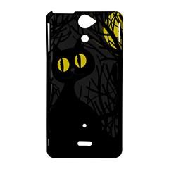 Black cat - Halloween Sony Xperia V