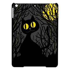 Black cat - Halloween iPad Air Hardshell Cases
