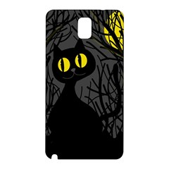 Black cat - Halloween Samsung Galaxy Note 3 N9005 Hardshell Back Case