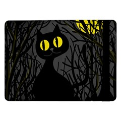Black cat - Halloween Samsung Galaxy Tab Pro 12.2  Flip Case