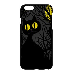 Black cat - Halloween Apple iPhone 6 Plus/6S Plus Hardshell Case