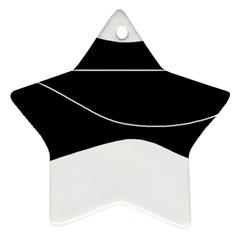 Black and white Ornament (Star)