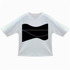 Black and white Infant/Toddler T-Shirts