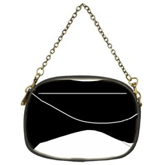 Black and white Chain Purses (One Side)