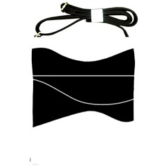 Black and white Shoulder Sling Bags