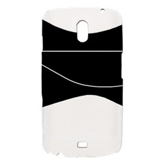 Black and white Samsung Galaxy Nexus i9250 Hardshell Case