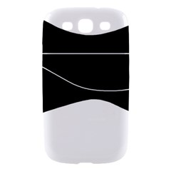 Black and white Samsung Galaxy S III Hardshell Case