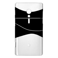 Black and white Sony Xperia ion