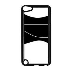 Black and white Apple iPod Touch 5 Case (Black)