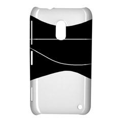 Black and white Nokia Lumia 620