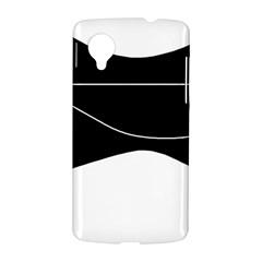 Black and white LG Nexus 5