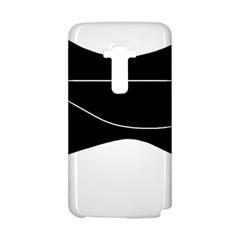 Black and white LG G Flex
