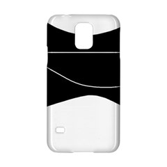 Black and white Samsung Galaxy S5 Hardshell Case