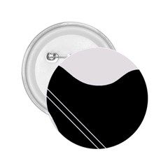 White and black abstraction 2.25  Buttons