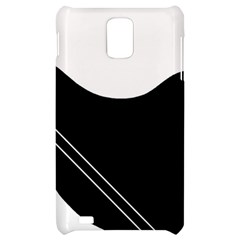 White and black abstraction Samsung Infuse 4G Hardshell Case