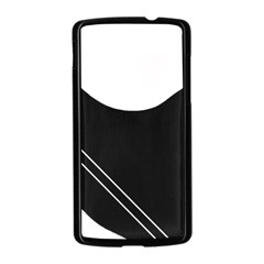 White and black abstraction Nexus 5 Case (Black)