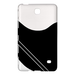White and black abstraction Samsung Galaxy Tab 4 (7 ) Hardshell Case