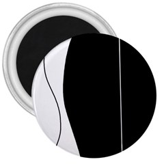 White and black 2 3  Magnets