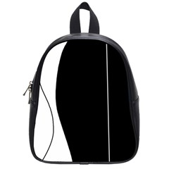 White and black 2 School Bags (Small)