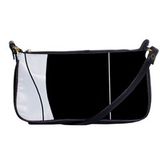 White and black 2 Shoulder Clutch Bags