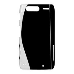 White and black 2 Motorola Droid Razr XT912