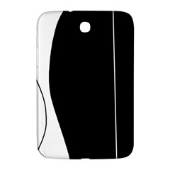 White and black 2 Samsung Galaxy Note 8.0 N5100 Hardshell Case