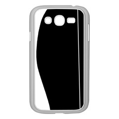 White and black 2 Samsung Galaxy Grand DUOS I9082 Case (White)