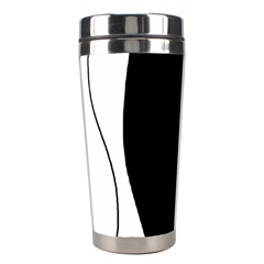 White and black 2 Stainless Steel Travel Tumblers