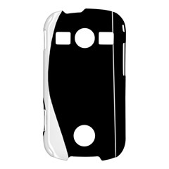 White and black 2 Samsung Galaxy S7710 Xcover 2 Hardshell Case