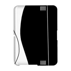 White and black 2 Amazon Kindle Fire (2012) Hardshell Case