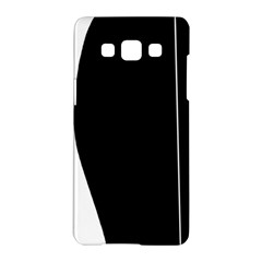 White and black 2 Samsung Galaxy A5 Hardshell Case