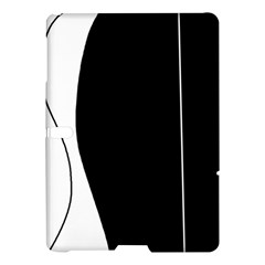 White and black 2 Samsung Galaxy Tab S (10.5 ) Hardshell Case