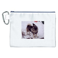 Norwegian Elkhound Full second Canvas Cosmetic Bag (XXL)