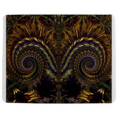 Abstract Fractal Pattern Jigsaw Puzzle Photo Stand (Rectangular)
