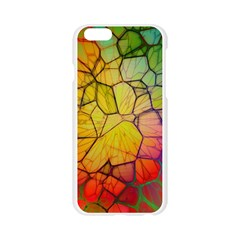 Abstract Squares Triangle Polygon Apple Seamless iPhone 6/6S Case (Transparent)