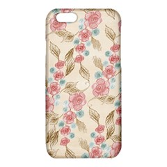 Background Page Template Floral  iPhone 6/6S TPU Case