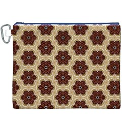 Background Wallpaper Pattern Canvas Cosmetic Bag (XXXL)