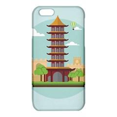 China Landmark Landscape Chinese iPhone 6/6S TPU Case