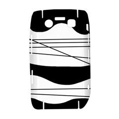 White and black waves Bold 9700