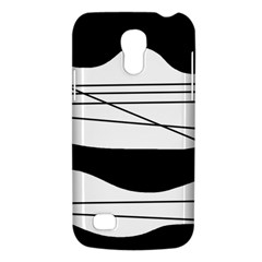 White and black waves Galaxy S4 Mini