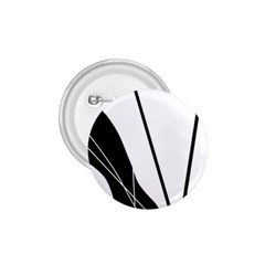 White and Black  1.75  Buttons