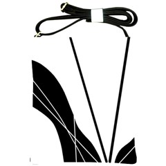 White and Black  Shoulder Sling Bags
