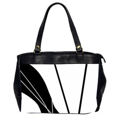 White and Black  Office Handbags (2 Sides)